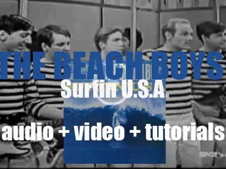 Capitol publish 'Surfin' U.S.A.,' the second Beach Boys album (1963)