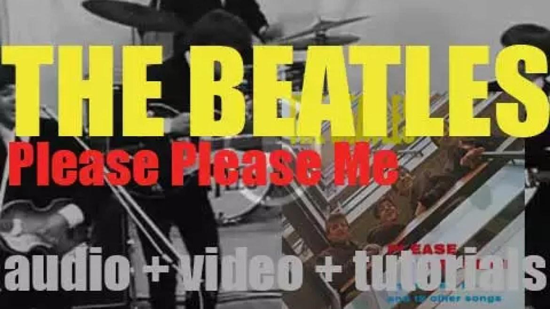 Parlophone publish 'Please Please Me,' The Beatles' debut album featuring 'Love Me Do' (1963)