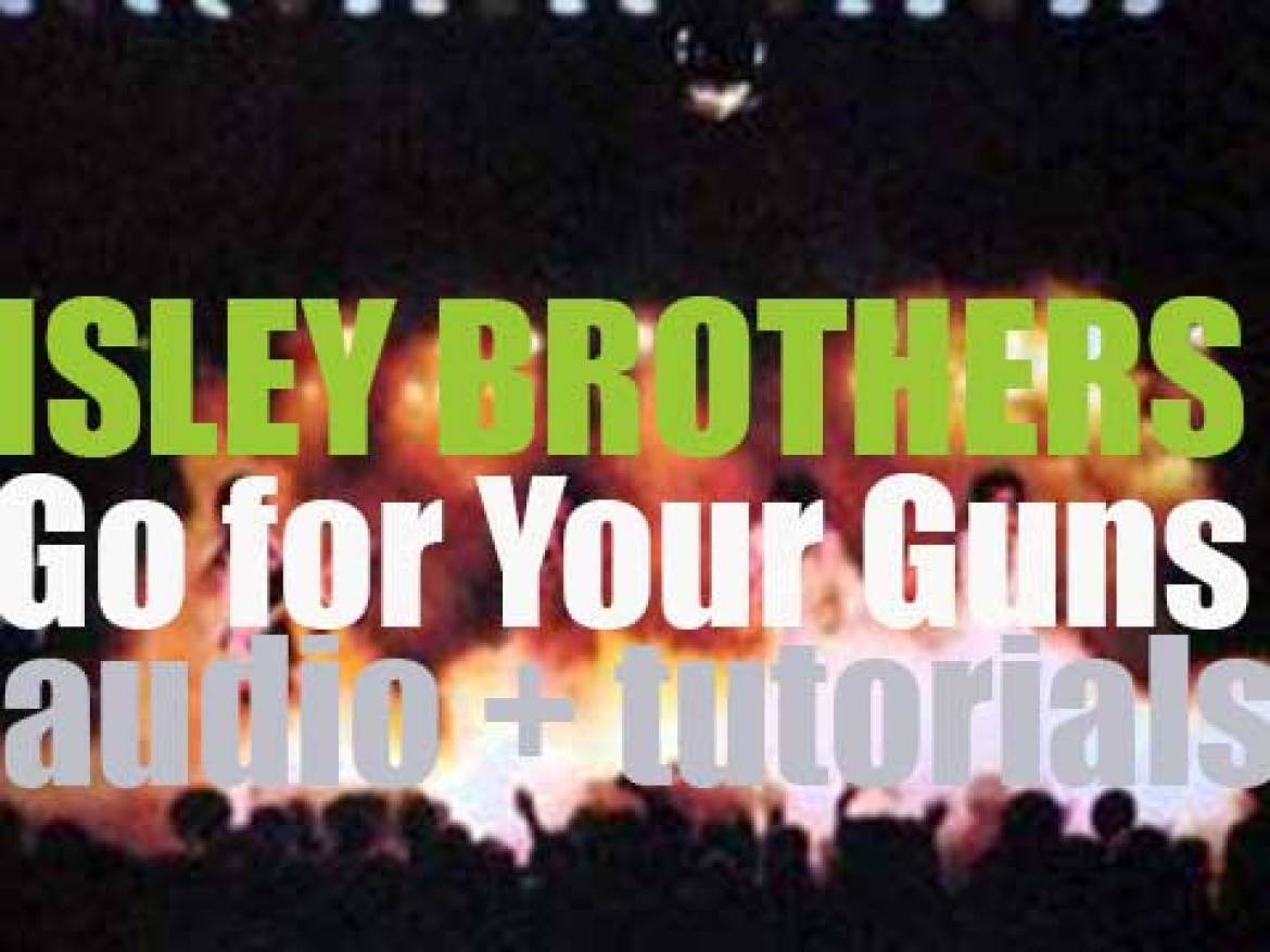 The Isley Brothers release their fifteenth album 'Go for Your Guns' (1977)