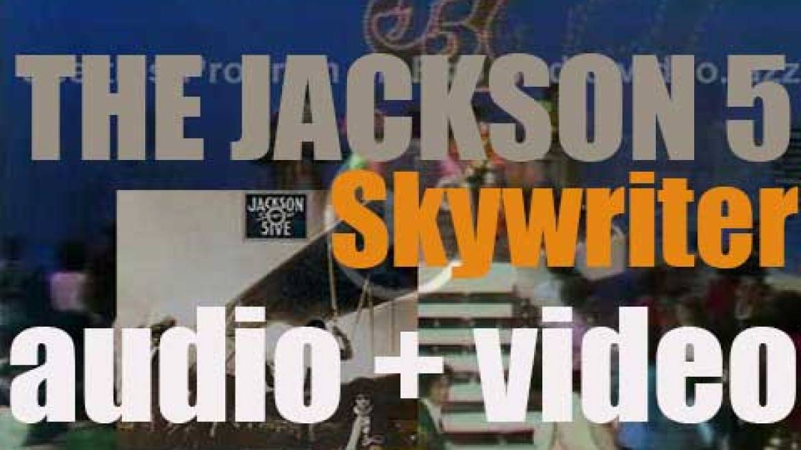 Motown publish 'Skywriter,' The Jackson 5 's eighth album (1973)