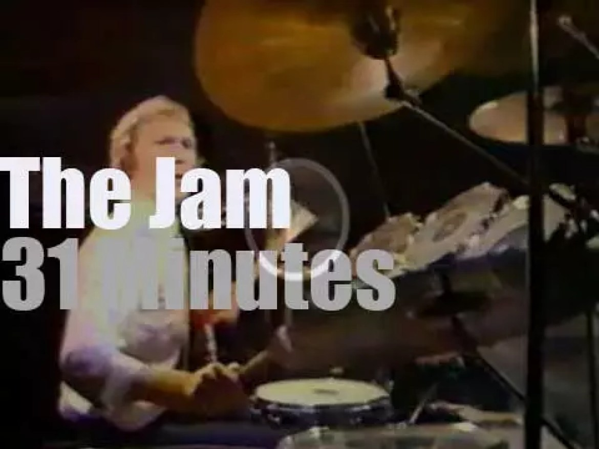 The Jam are live on Belgian TV (1980)