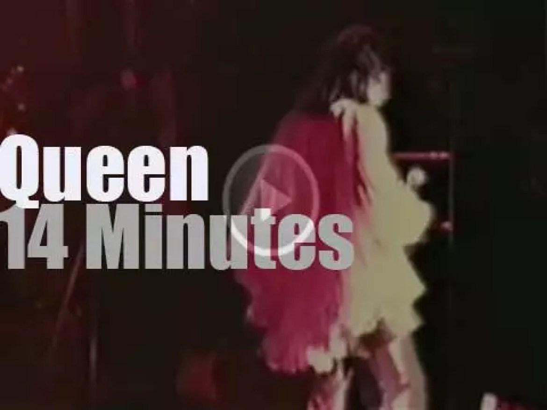 The 'Queen II Tour' stops in London (1974)