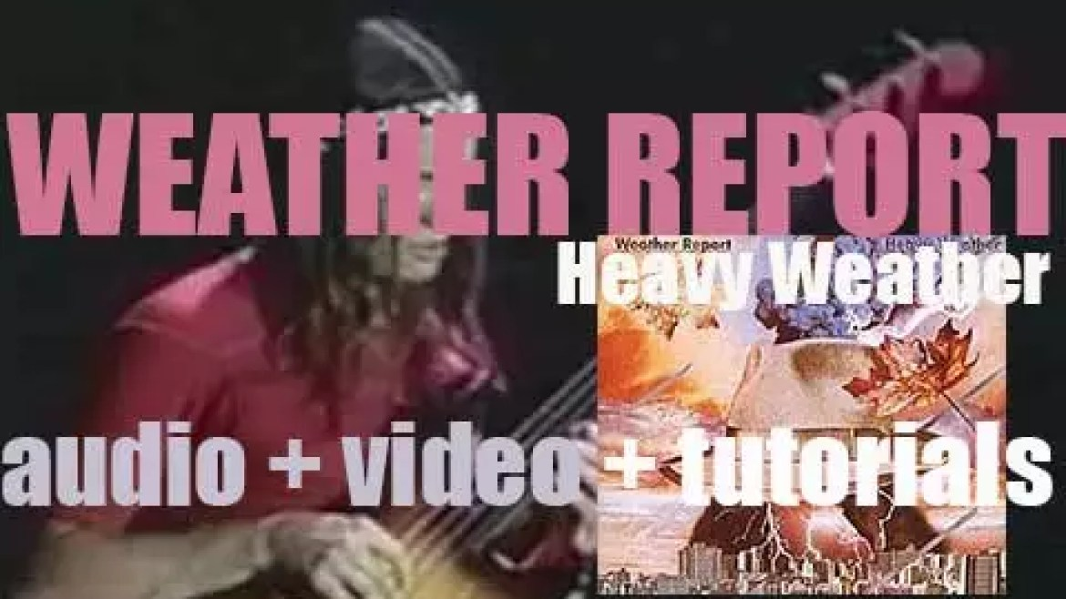 Weather Report release  their eighth  album : 'Heavy Weather' featuring 'Birdland' by Joe Zawinul and Teen Town by Jaco Pastorius (1977)