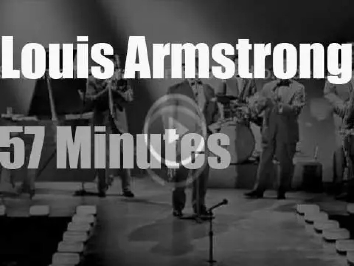 Louis Armstrong is on Australian Television (1963)