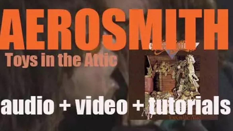 Columbia publish Aerosmith's third album : 'Toys in the Attic' featuring 'Walk This Way' (1975)