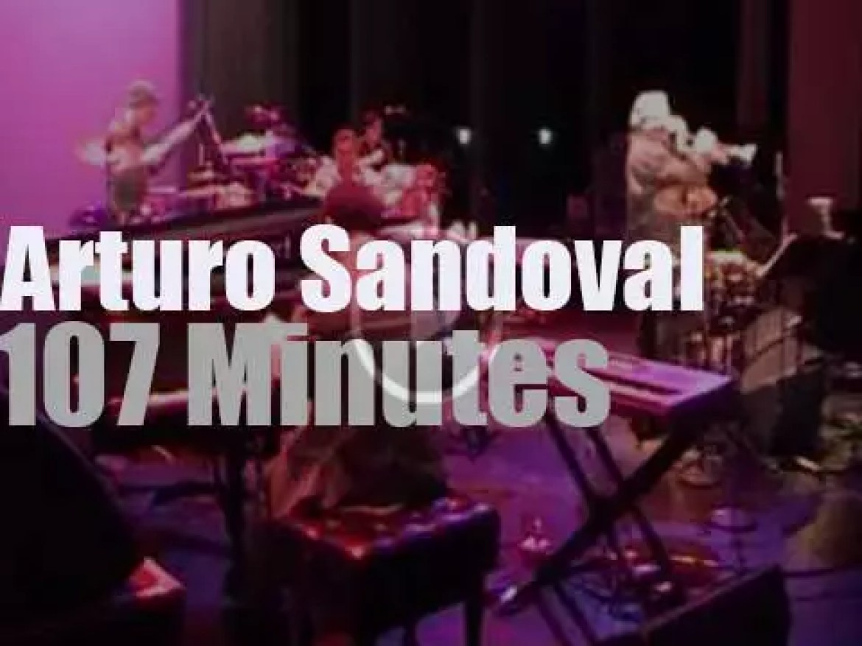 Arturo Sandoval at Berk's Jazz Festival (2013)
