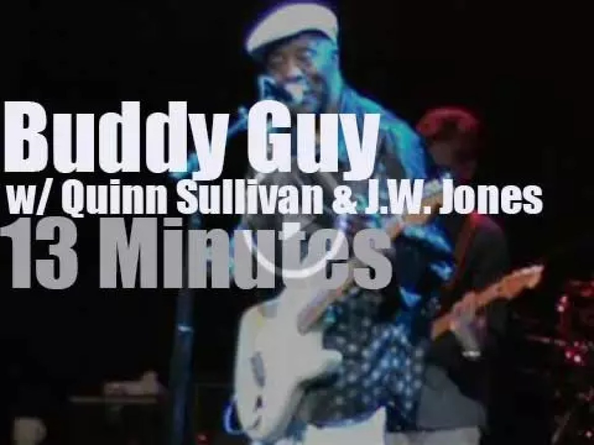 Buddy Guy, Quinn Sullivan &  JW Jones get together in Ottawa (2015)