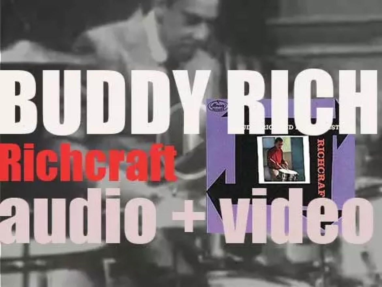 Buddy Rich records 'Richcraft' with a big band arranged by Ernie Wilkins (1959)