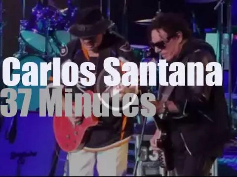 Carlos Santana reforms Santana (2016)