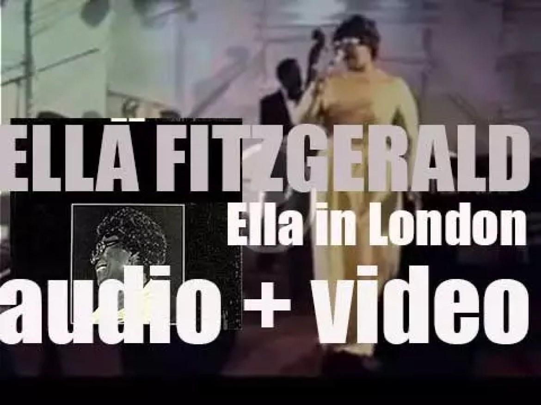 Ella Fitzgerald records 'Ella in London' at Ronnie Scott's Jazz Club (1974)