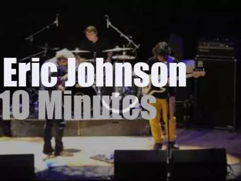 Eric Johnson plays Coltrane in Edinburgh (2013)