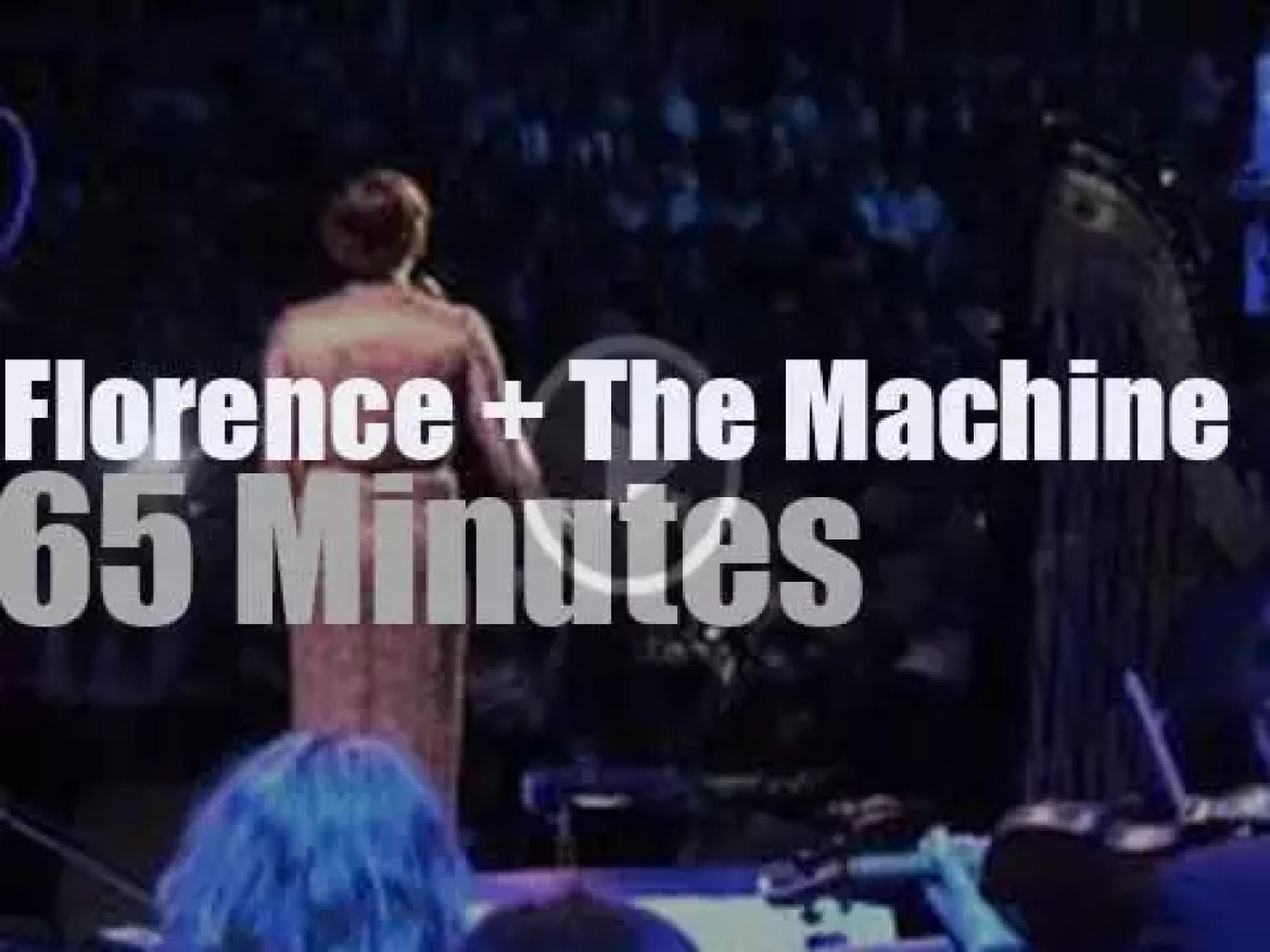 Florence + The Machine  are in London (2012)