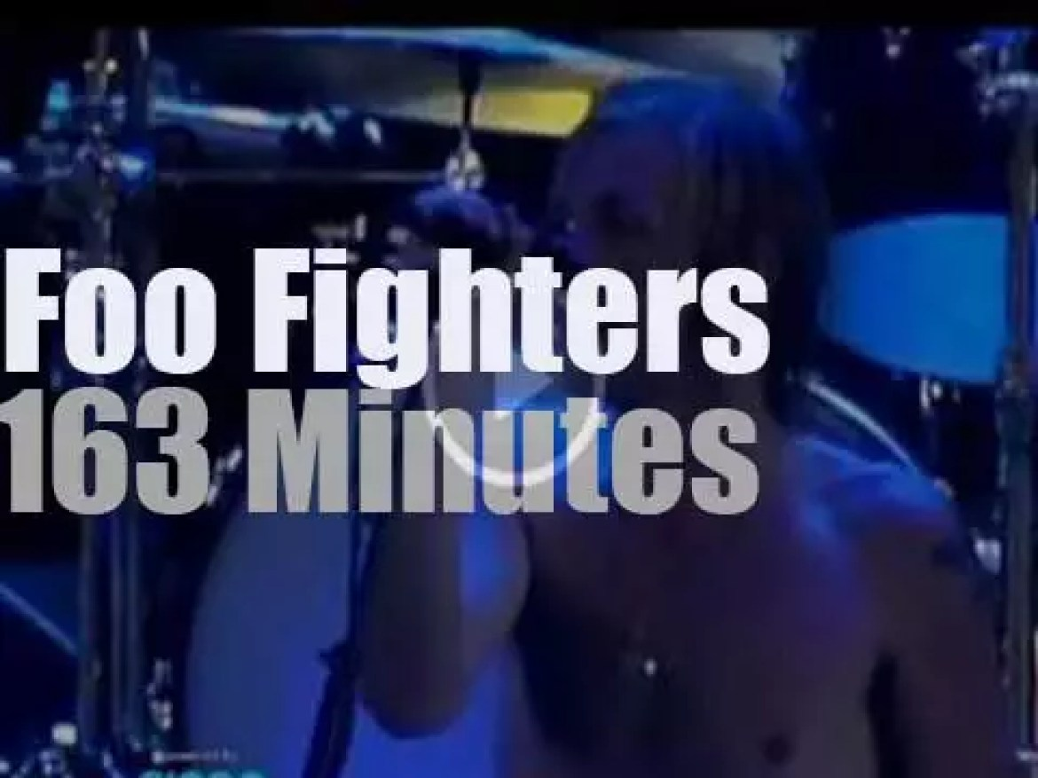 """Foo Fighters at """"Quilmes Rock"""" (2012)"""