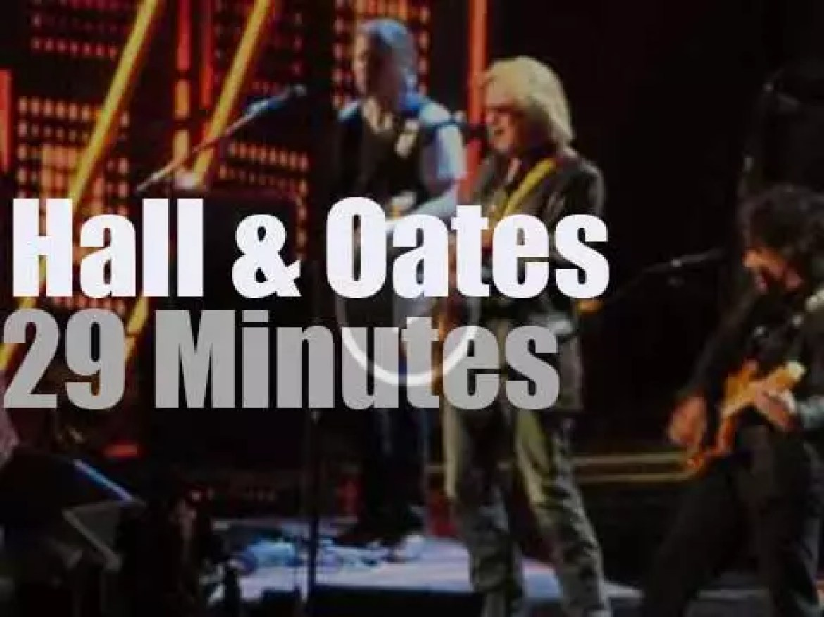 Hall & Oates Rock & Roll Hall of Fame Inductee (2014)
