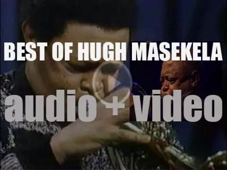 We remember Hugh Masekela. 'Just Hugh'