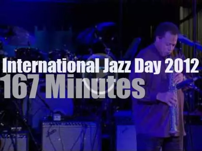 "First  ""International Jazz Day"" opens at UN (2012)"