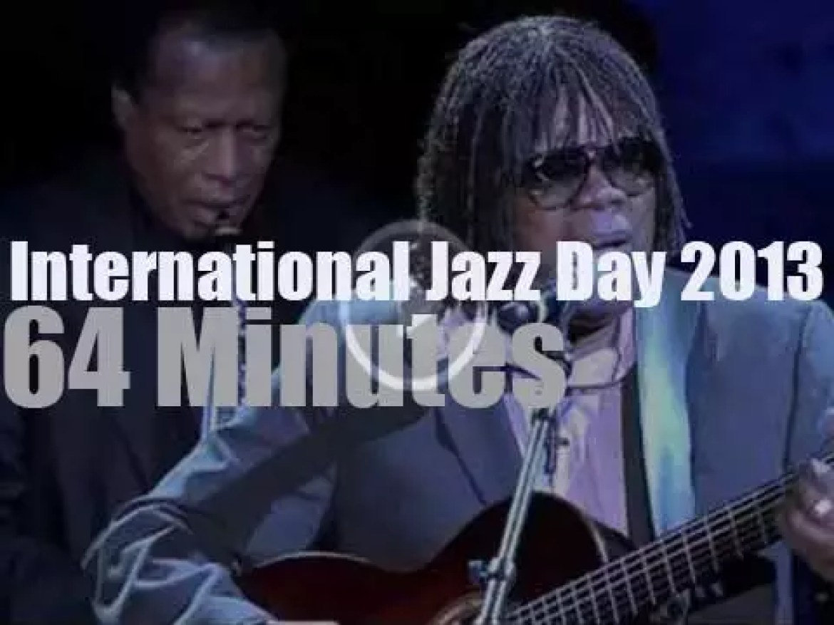 "Second  ""International Jazz Day"" happens in Istanbul  (2013)"