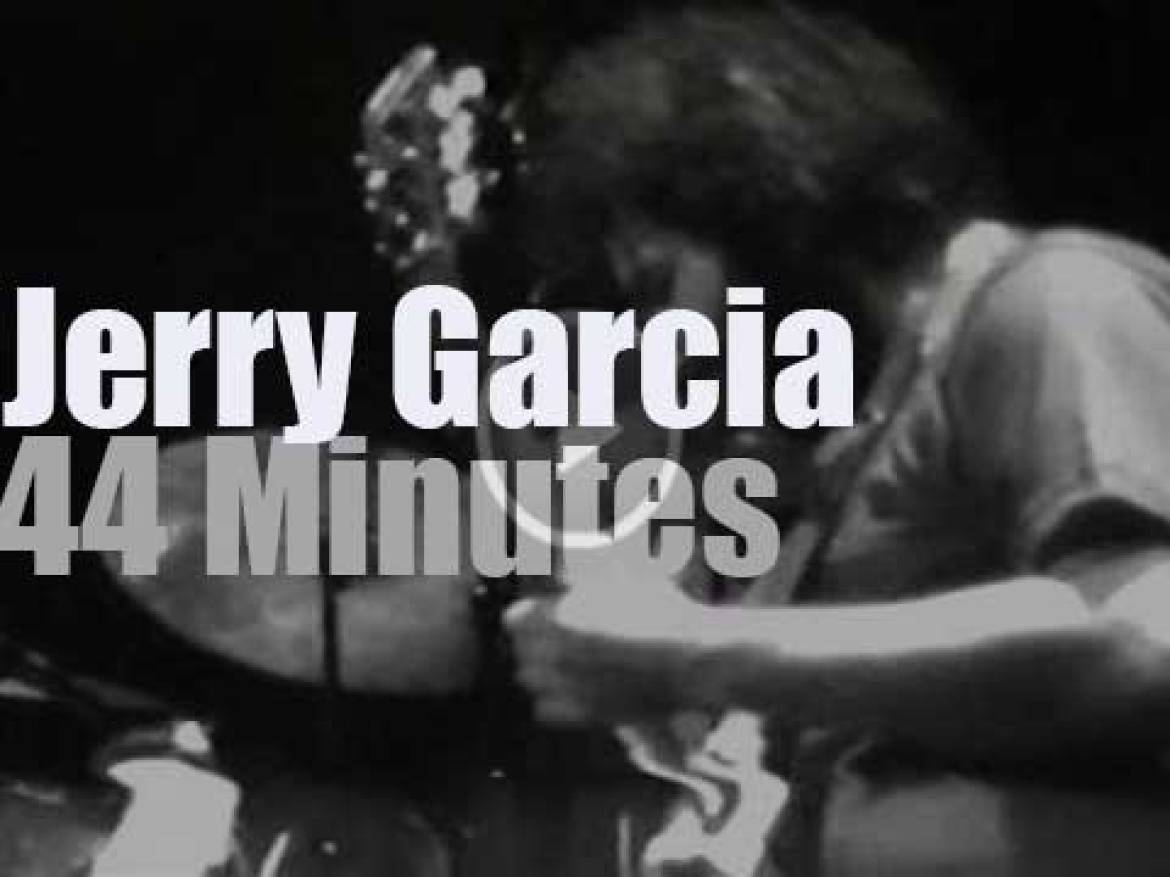 Jerry Garcia Band is in New Jersey (1976)