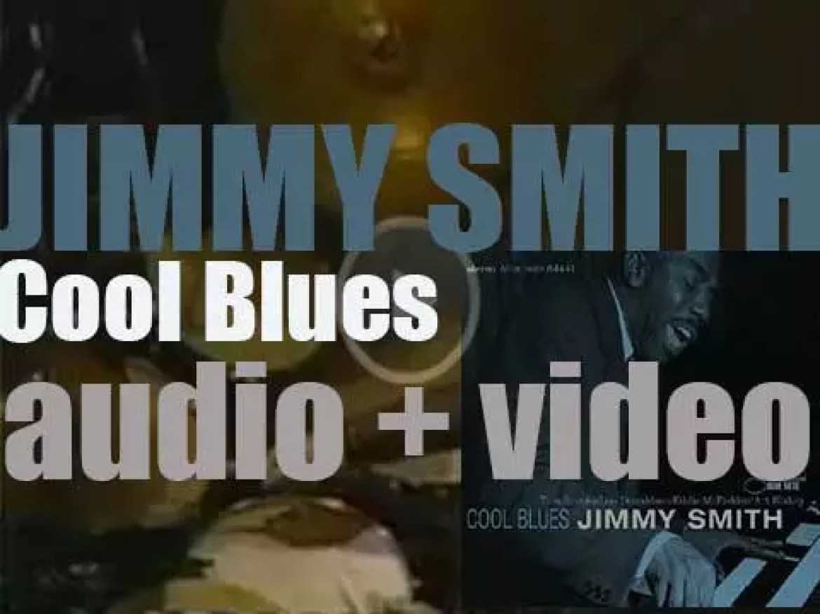 Jimmy Smith records  'Cool Blues' in a New-York Club with Lou Donaldson, Art Blakey et al (1958)