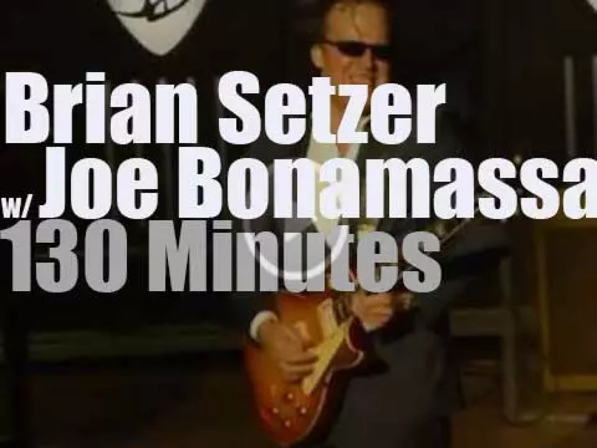 Brian Setzer joins Joe Bonamassa in Minneapolis (2015)