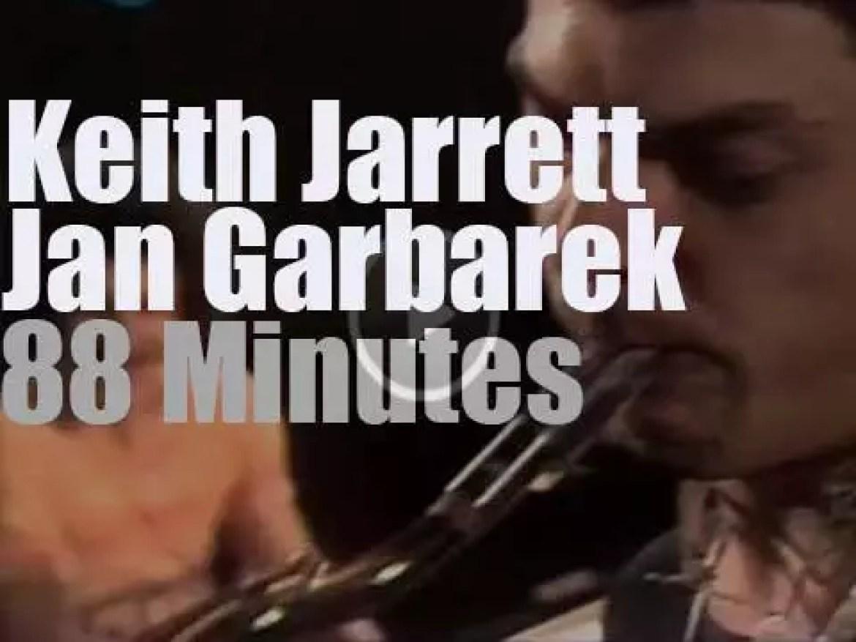 Keith Jarrett,Jan Garbarek et al play in Hannover, Germany (1974)