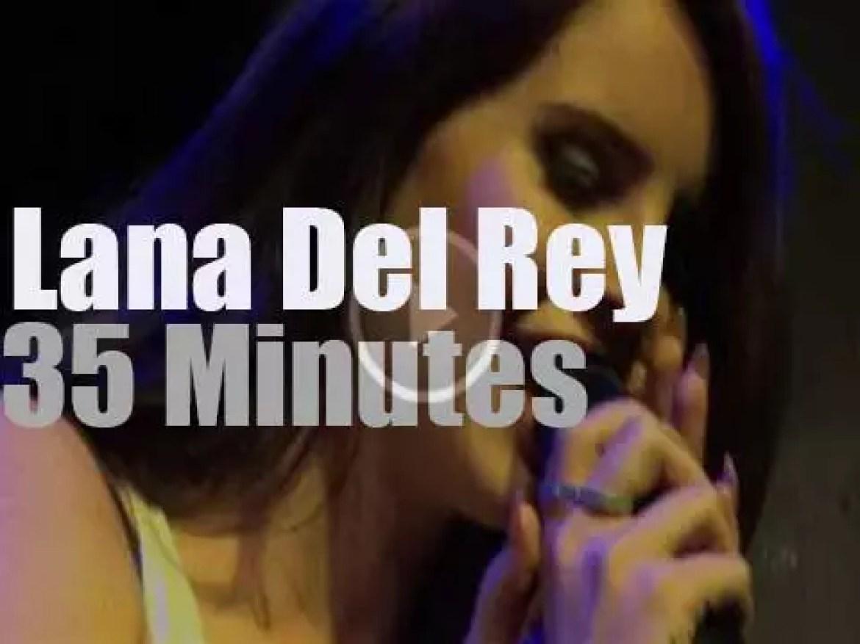 Lana Del Rey is back in  London at Jazz Café (2012)