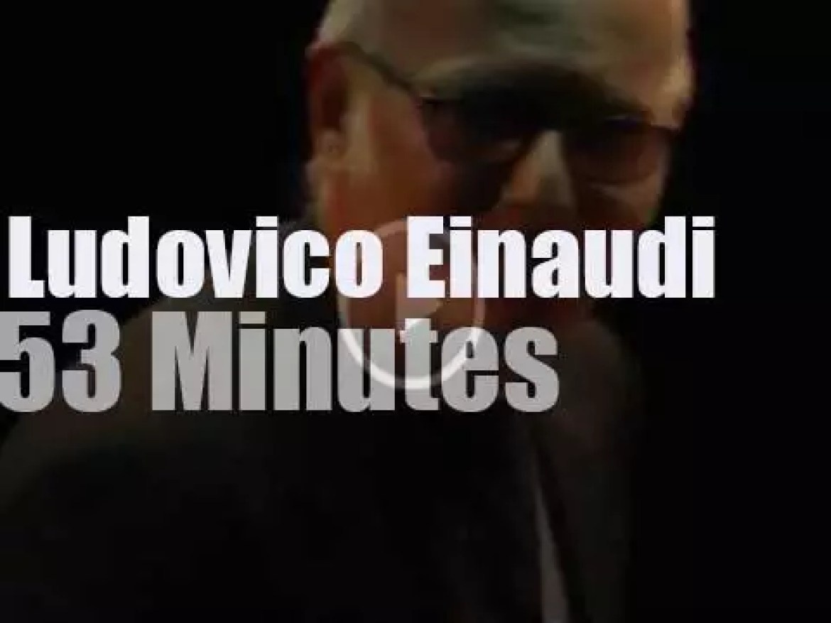 Ludovico Einaudi plays in Moscow (2012)