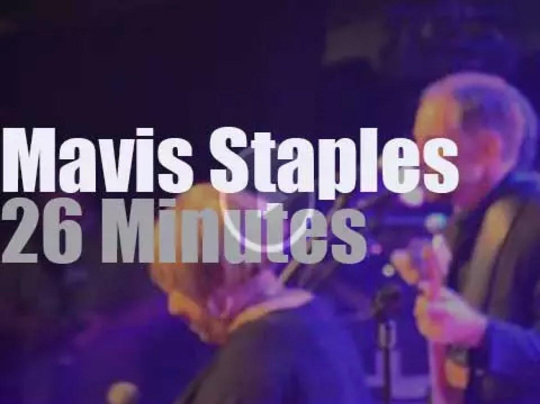 Mavis Staples sings in Holland (2015)