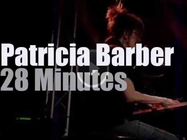 Patricia Barber plays and sings in Paris (2011)