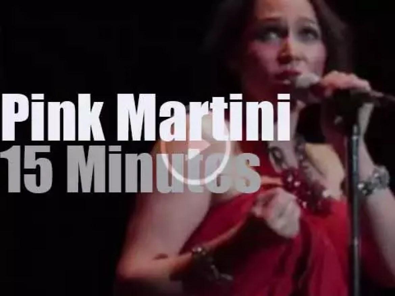 Pink Martini serenades London (2013)
