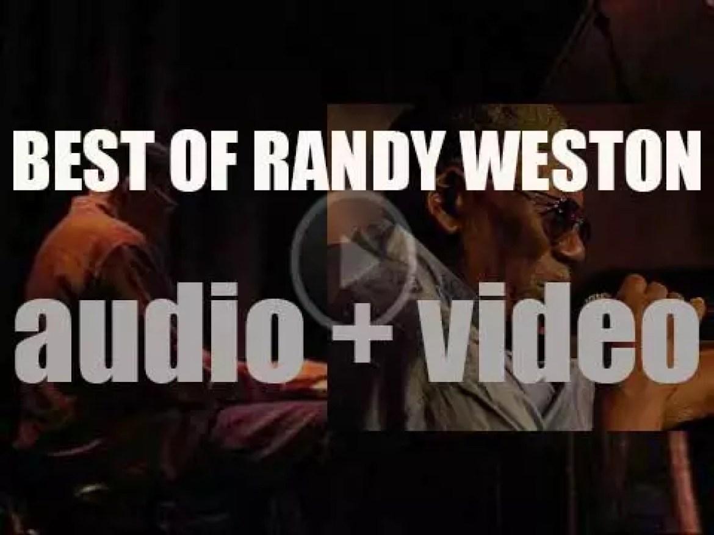We remember Randy Weston. 'Weston Union'