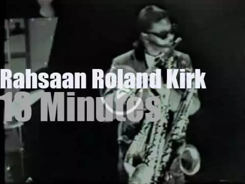 German TV tapes Roland Kirk (1961)