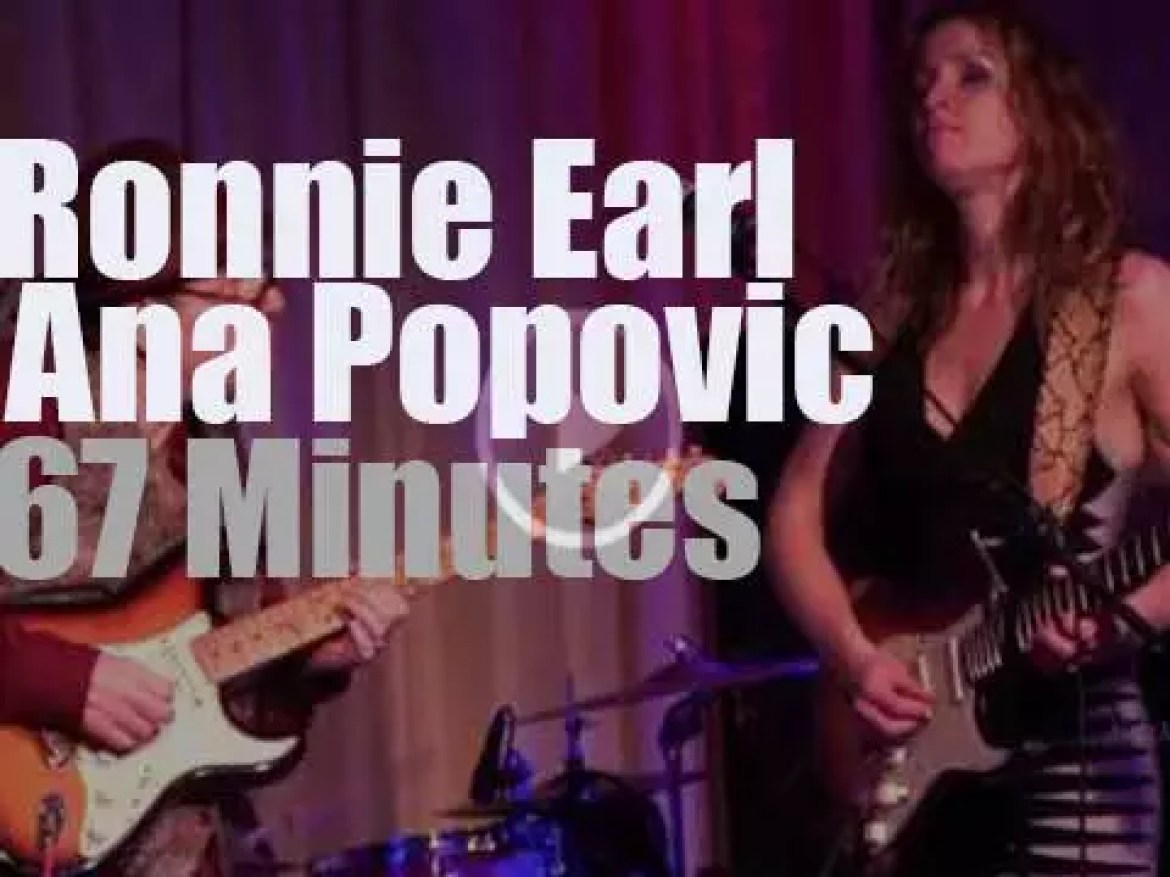 Ronnie Earl sits in with Ana Popovic (2014)