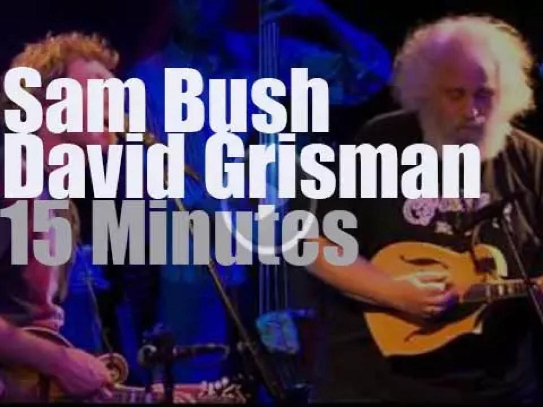 Sam Bush & David Grisman get together in DC (2013)