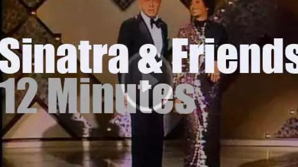 On TV today, Frank Sinatra has famous Friends – (1977)