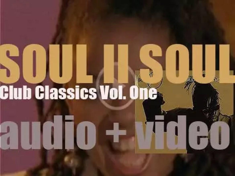 Virgin publish Soul II Soul's  debut album : 'Club Classics Vol. One' featuring 'Back To Life' (1989)