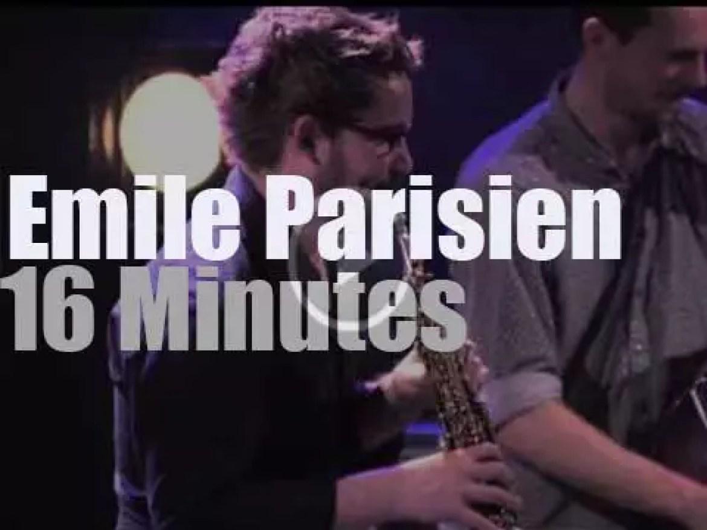Emile Parisien triumphs at Cully Jazz (2013)
