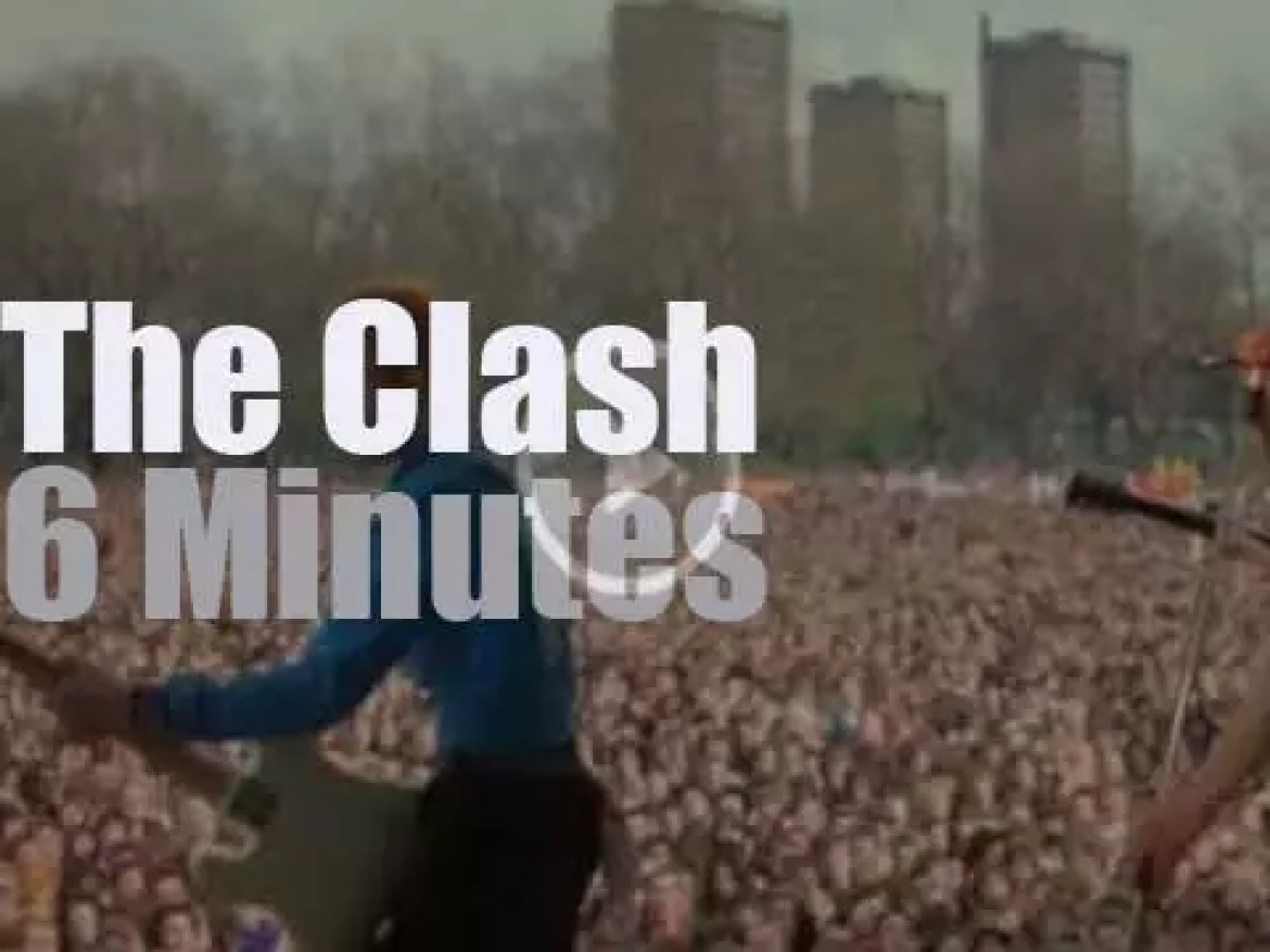 The Clash rock Against Racism (1978)