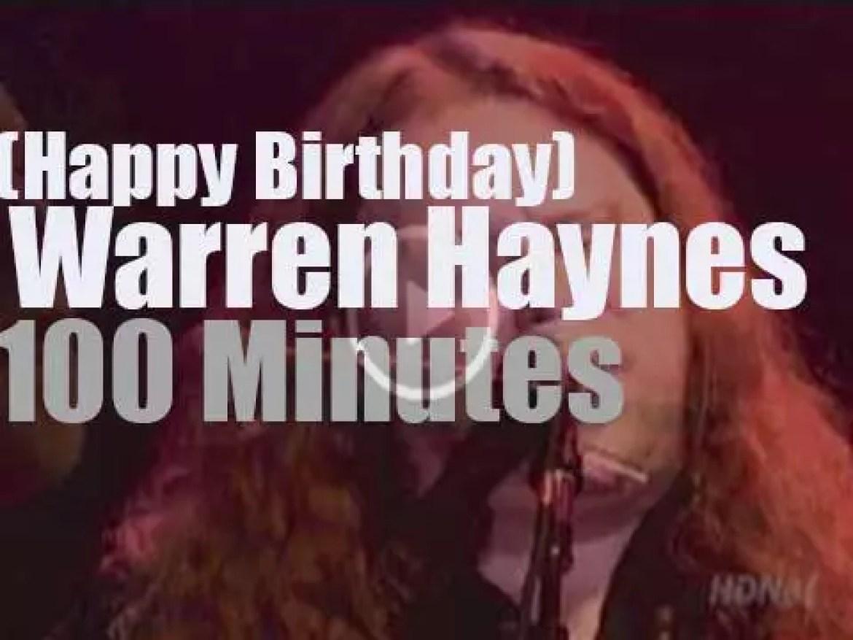 Happy Birthday Warren Haynes