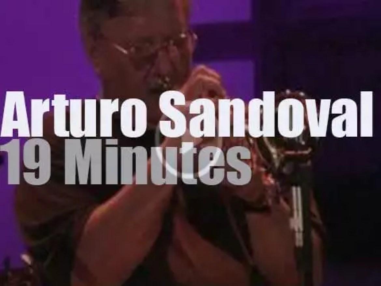 Arturo Sandoval is in Romania (2009)