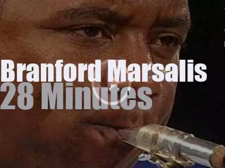 Branford Marsalis plays in Burghausen (2003)