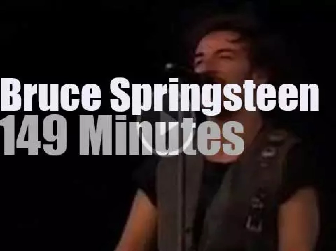 Bruce Springsteen w/ the Other Band are in Stockholm (1993)