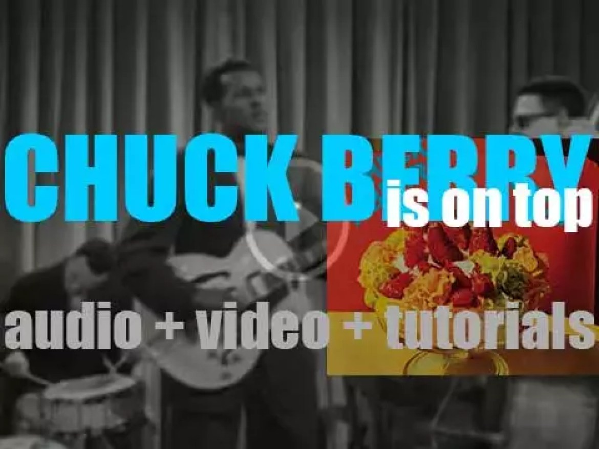 Chess starts the recording of 'Chuck Berry Is on Top' album featuring Johnny B. Goode, Maybelle, Roll Over Beethoven, etc (1955)