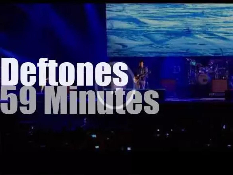Deftones  play in Las Vegas (2015)