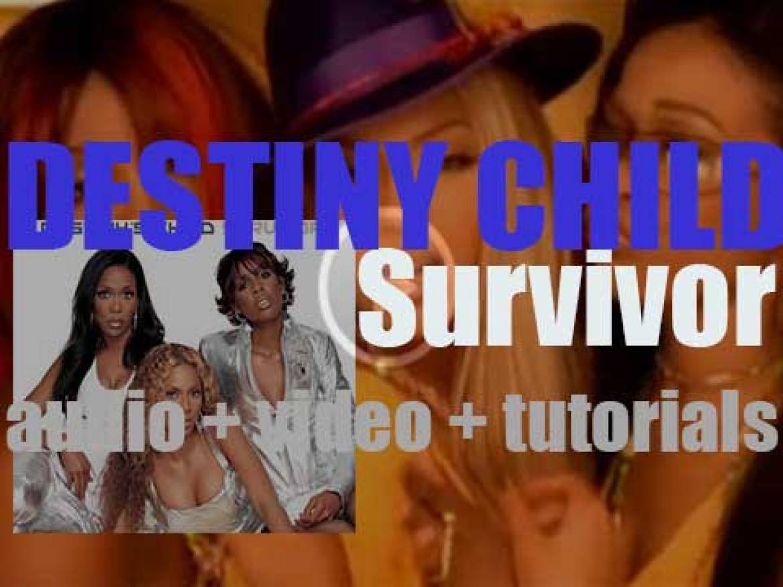 Destiny's Child release  'Survivor,' their third album produced by Beyoncé (2001)