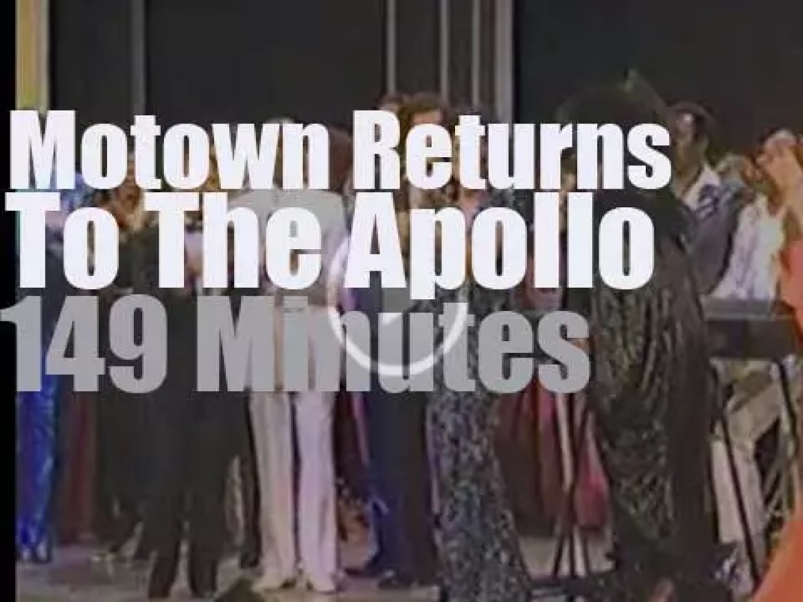 On TV today, Sarah Vaughan, Diana Ross, Patti LaBelle et al return to the Apollo (1985)