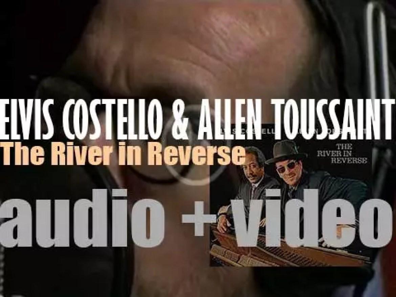 Elvis Costello & Allen Toussaint release 'The River in Reverse,'  a collaborative album (2006)