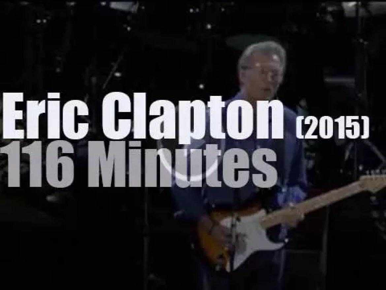 Eric Clapton celebrates his 70th birthday in London (2015)