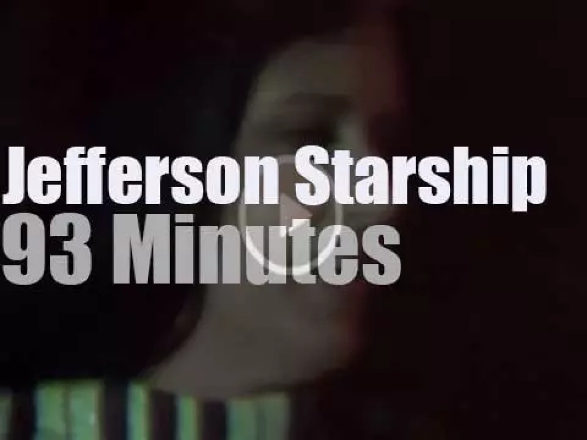 Jefferson Starship plays for the Veterans in San Francisco (1982)