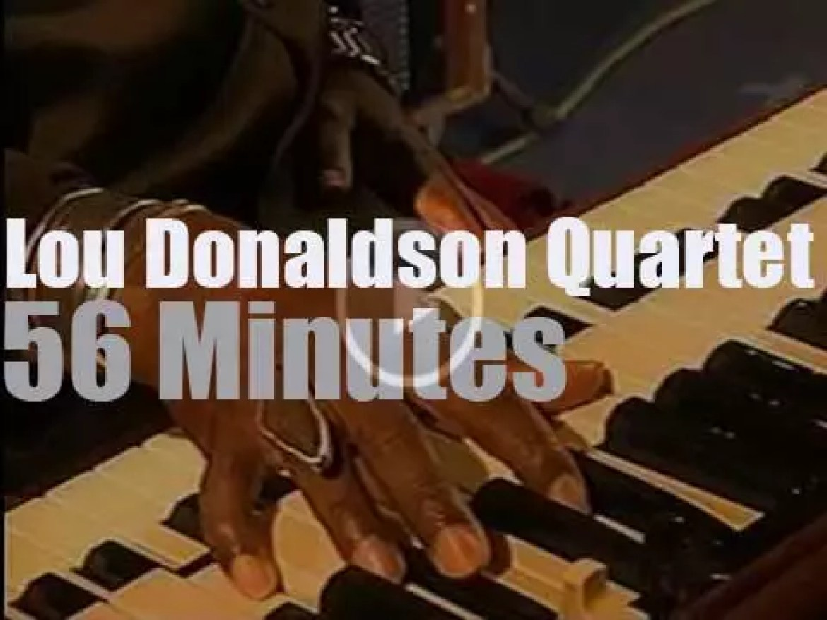The Lou Donaldson Quartet  is in  Germany (2000)